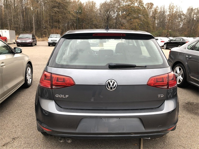 Pre-Owned 2015 Volkswagen Golf TDI S 4-Door